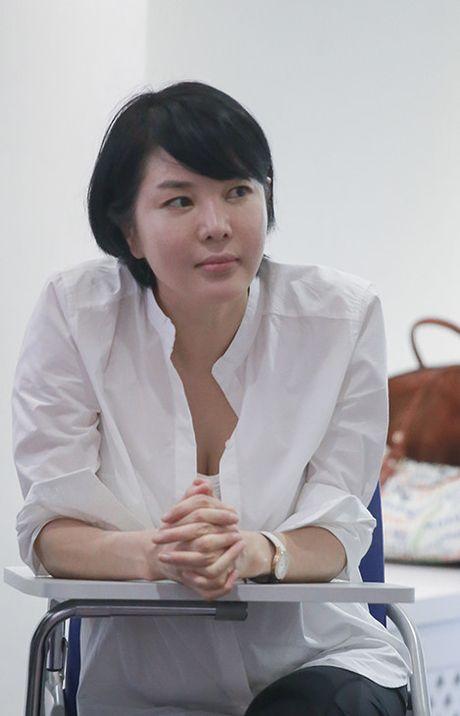 Thuy Anh, Thanh Tu hao huc khi lan dau hoc dien xuat bai ban - Anh 4
