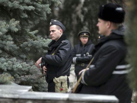 Co quan an ninh Nga bat giu nhom pha hoai nha nuoc o Crimea - Anh 1
