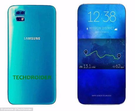 Samsung se bien Galaxy S8 thanh 'doi thu lon nhat' cua iPhone 7 - Anh 1