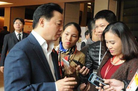 Bo truong len tieng vu 'xin do 1,5 trieu m3 chat thai xuong bien' - Anh 1