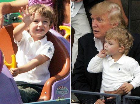 Cau ut nha Donald Trump moi 10 tuoi da ra dang soai ca - Anh 6