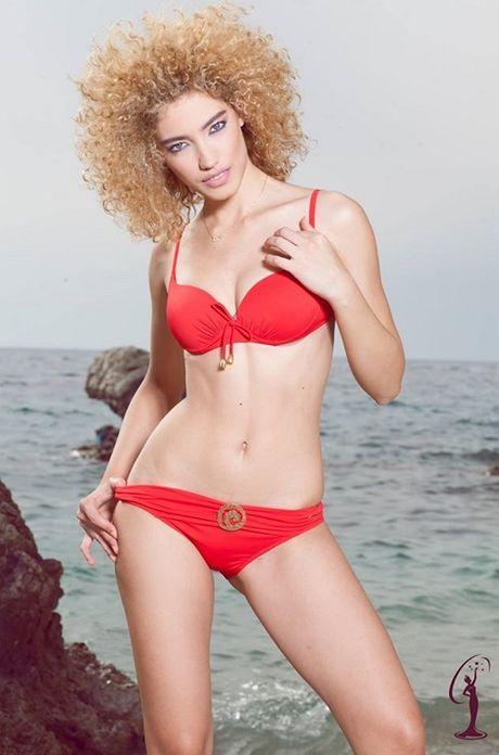 Man 'danh vong' voi bikini vuot mat doi thu cua Le Hang - Anh 4