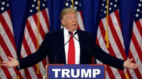 'Cuoc chien' xanh - do la lung dang sau sac ao cua Trump va Hillary - Anh 15
