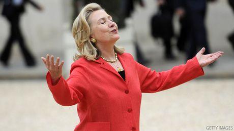 'Cuoc chien' xanh - do la lung dang sau sac ao cua Trump va Hillary - Anh 8