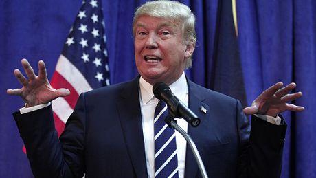 'Cuoc chien' xanh - do la lung dang sau sac ao cua Trump va Hillary - Anh 9