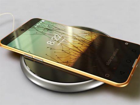 iPhone 8 man hinh OLED, thiet ke sieu dep - Anh 1