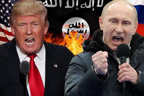 Putin - Donald Trump 'cap doi hoan hao' de xoa so IS - Anh 1