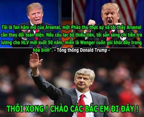 HAU TRUONG (10.11): Wenger chia tay Arsenal vi so... Donald Trump - Anh 3