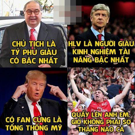 Anh che: Phao thu nhan bao ke tuyet doi; Tien si gay me Louis Donald Gaal can quet Ngoai hang Anh - Anh 3
