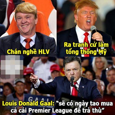 Anh che: Phao thu nhan bao ke tuyet doi; Tien si gay me Louis Donald Gaal can quet Ngoai hang Anh - Anh 4