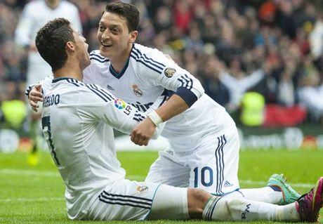 Oezil he lo ap luc kinh hoang tai Real Madrid - Anh 1