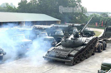 'Voi sat' T-54 Viet Nam roi 'vien' X32 the nao? - Anh 4