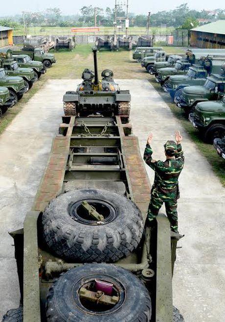 'Voi sat' T-54 Viet Nam roi 'vien' X32 the nao? - Anh 5