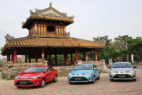 Toyota Vios - Xe ban chay nhat Viet Nam thang 10/2016 - Anh 1