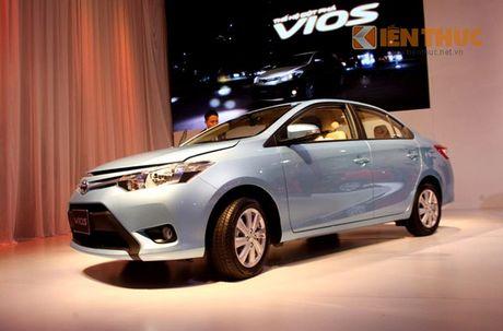 Toyota Vios - Xe ban chay nhat Viet Nam thang 10/2016 - Anh 2