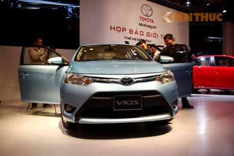 Toyota Vios - Xe ban chay nhat Viet Nam thang 10/2016 - Anh 3