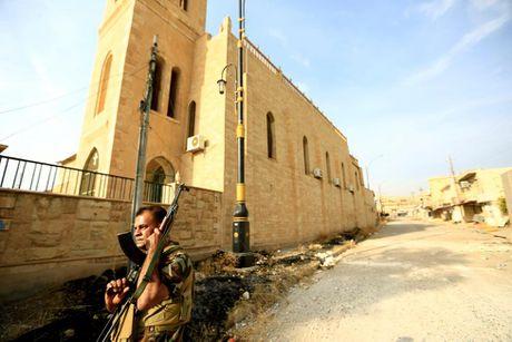 Hinh anh dan quan nguoi Kurd danh IS tai Bashiqa - Anh 8