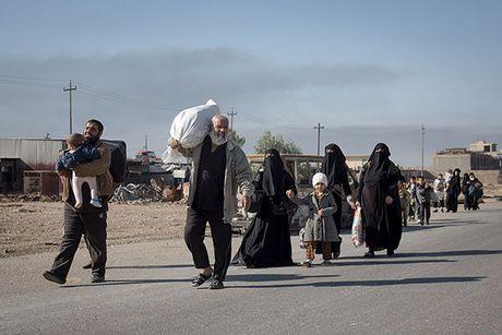 Chum anh nguoi dan Iraq chay loan khoi Mosul - Anh 10