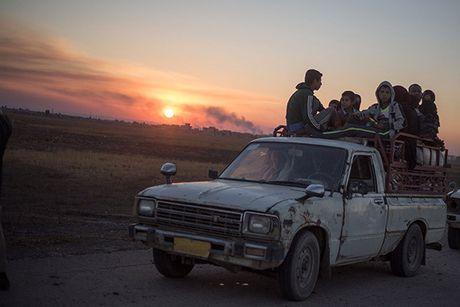 Chum anh nguoi dan Iraq chay loan khoi Mosul - Anh 12