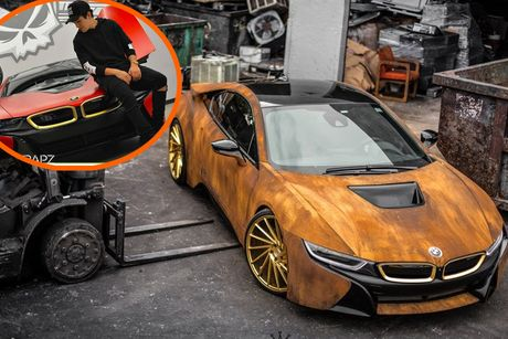 BMW i8 phong cach ri set khien dan choi 'phat sot' - Anh 2