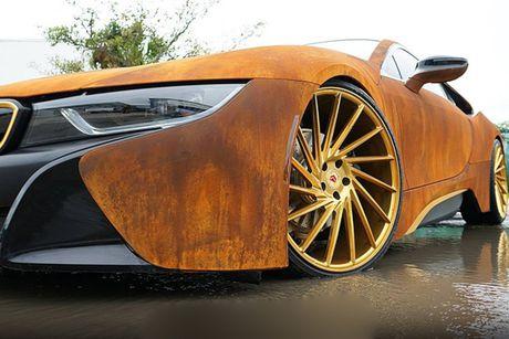 BMW i8 phong cach ri set khien dan choi 'phat sot' - Anh 4