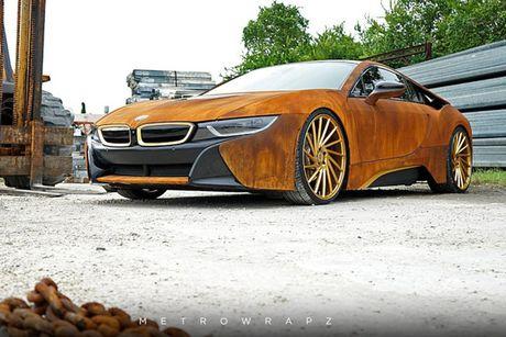 BMW i8 phong cach ri set khien dan choi 'phat sot' - Anh 7