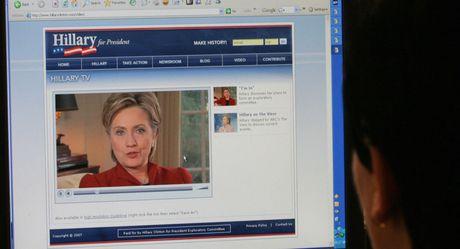 Con duong chinh tri cua ba Hillary Clinton qua anh - Anh 13