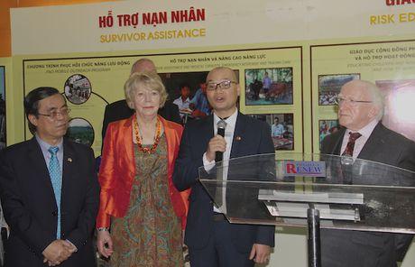 Tong thong Ireland tham tinh Quang Tri - Anh 1