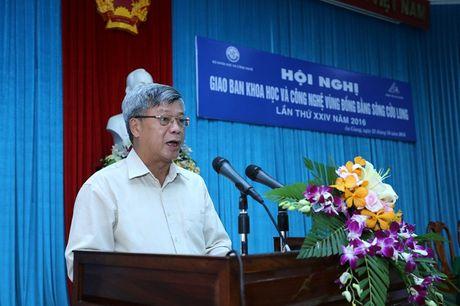 Dong bang Song Cuu Long: Ung dung KH&CN de ung pho voi bien doi khi hau va phat trien kinh te - Anh 1