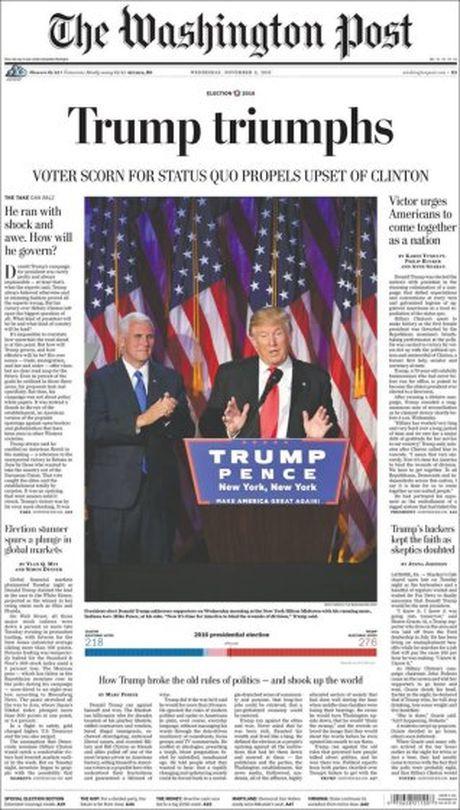 Nhung phan ung cua truyen thong the gioi ve tin Donald Trump dac cu - Anh 1