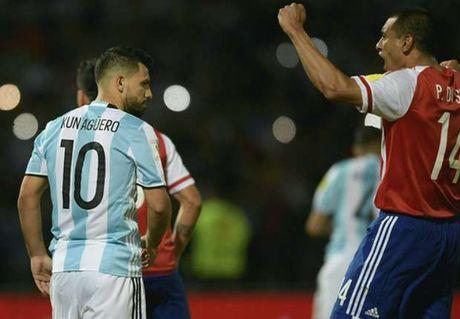 Aguero du bi tran Argentina lam khach Brazil - Anh 1