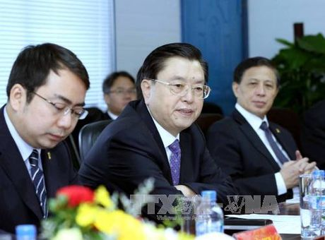 Uy vien truong Nhan dai Trung Quoc Truong Duc Giang tham Da Nang - Anh 1