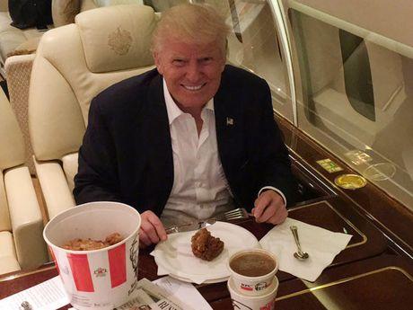 Thoi quen an uong binh dan cua Donald Trump - Anh 3