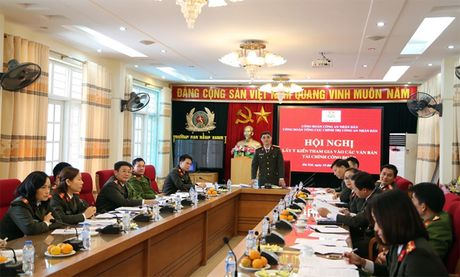 Hoi nghi lay y kien tham gia vao cac van ban tai chinh Cong doan - Anh 4