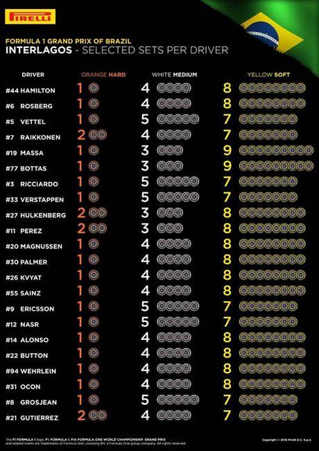 F1, Brazilian GP: Tran danh quyet dinh ngai vang - Anh 2