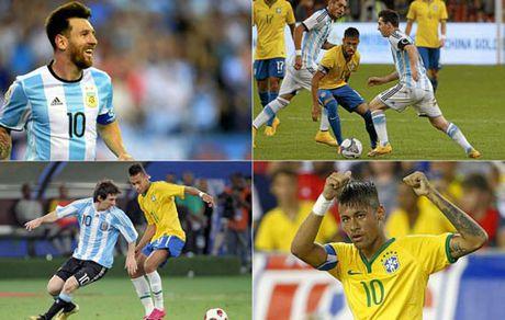 """Doi dau nhau, Neymar thuong xuyen bi Messi """"bat nat"""" - Anh 1"""