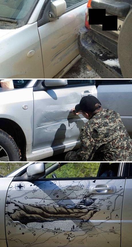 Nhung cach 'sua' xe sang tao khien ban phai kham phuc - Anh 9