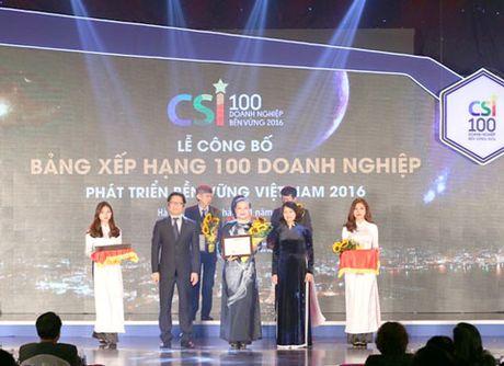 SASCO top 10 DN Phat trien Ben vung - Anh 1