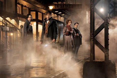Fan Harry Potter phat sot vi clip hau truong 'Fantastic Beasts' nhieu bi an - Anh 4