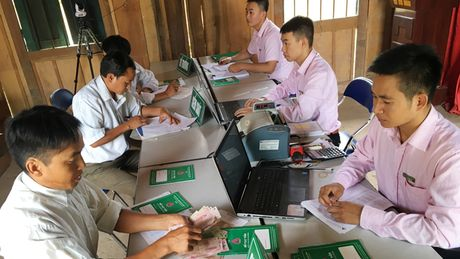 Cho vay xay ham biogas: Nguoi dan khong can the chap so do - Anh 1