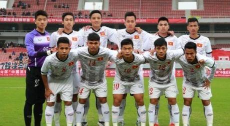 U.22 Viet Nam co them 1 diem tai giai tu hung Trung Quoc - Anh 1