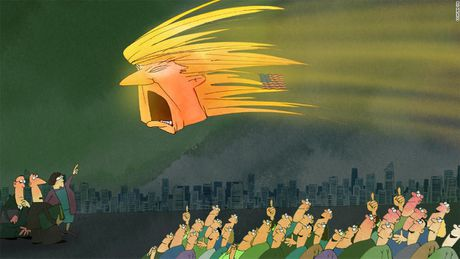 Biem hoa: Chien thang vang doi cua ong Donald Trump - Anh 2