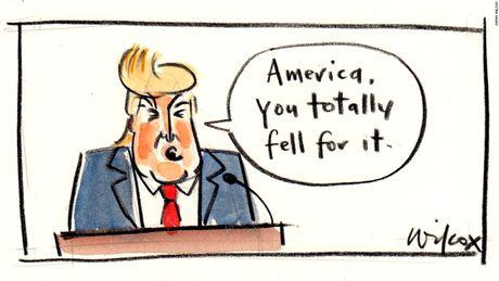 Biem hoa: Chien thang vang doi cua ong Donald Trump - Anh 3