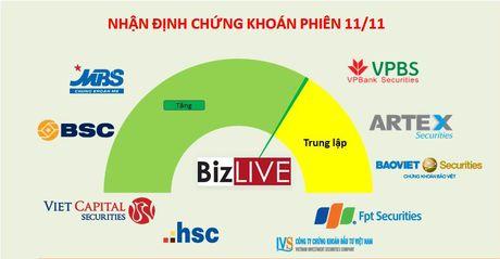 Nhan dinh chung khoan 11/11: Se con hoi phuc nhung nen theo doi tam ly dam dong - Anh 1