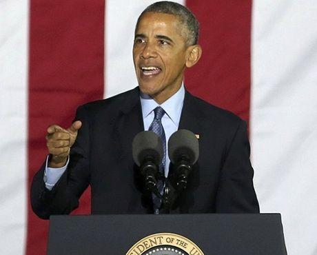 Bau cu tong thong My: Dong thai moi cua ong Obama voi Donald Trump - Anh 1