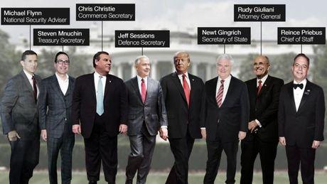 Bau cu My: Nhung ung vien tiem nang trong noi cac cua Donald Trump - Anh 1