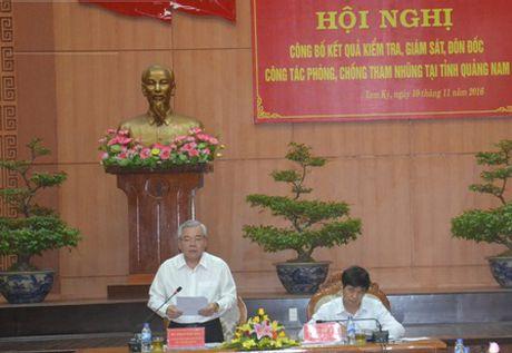 Cong bo ket qua kiem tra, giam sat tai Quang Nam - Anh 1