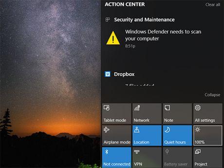 3 cach dieu chinh do sang man hinh trong Windows 10 - Anh 3
