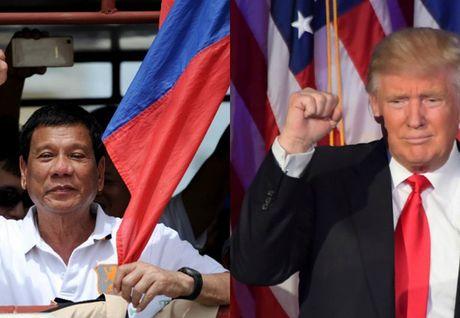 Donald Trump dac cu, Tong thong Philippines Duterte chuc mung, khong muon bat hoa - Anh 1