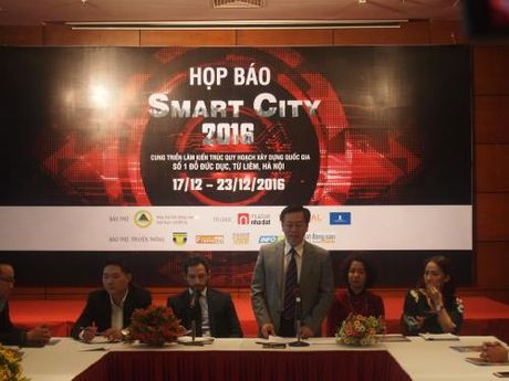 Sap dien ra su kien Smart City 2016 - Tuan le Nha va Cong nghe - Anh 1